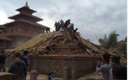 Kathmandu on April 25, 2015 Image: abc.net.au