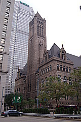 The Allegheny County Courthouse, built in 1900.