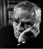 Learned Hand leaning on one of his learned hands.